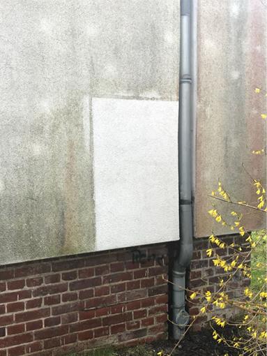 Fassadenreinigung Fassilo Putzfassade
