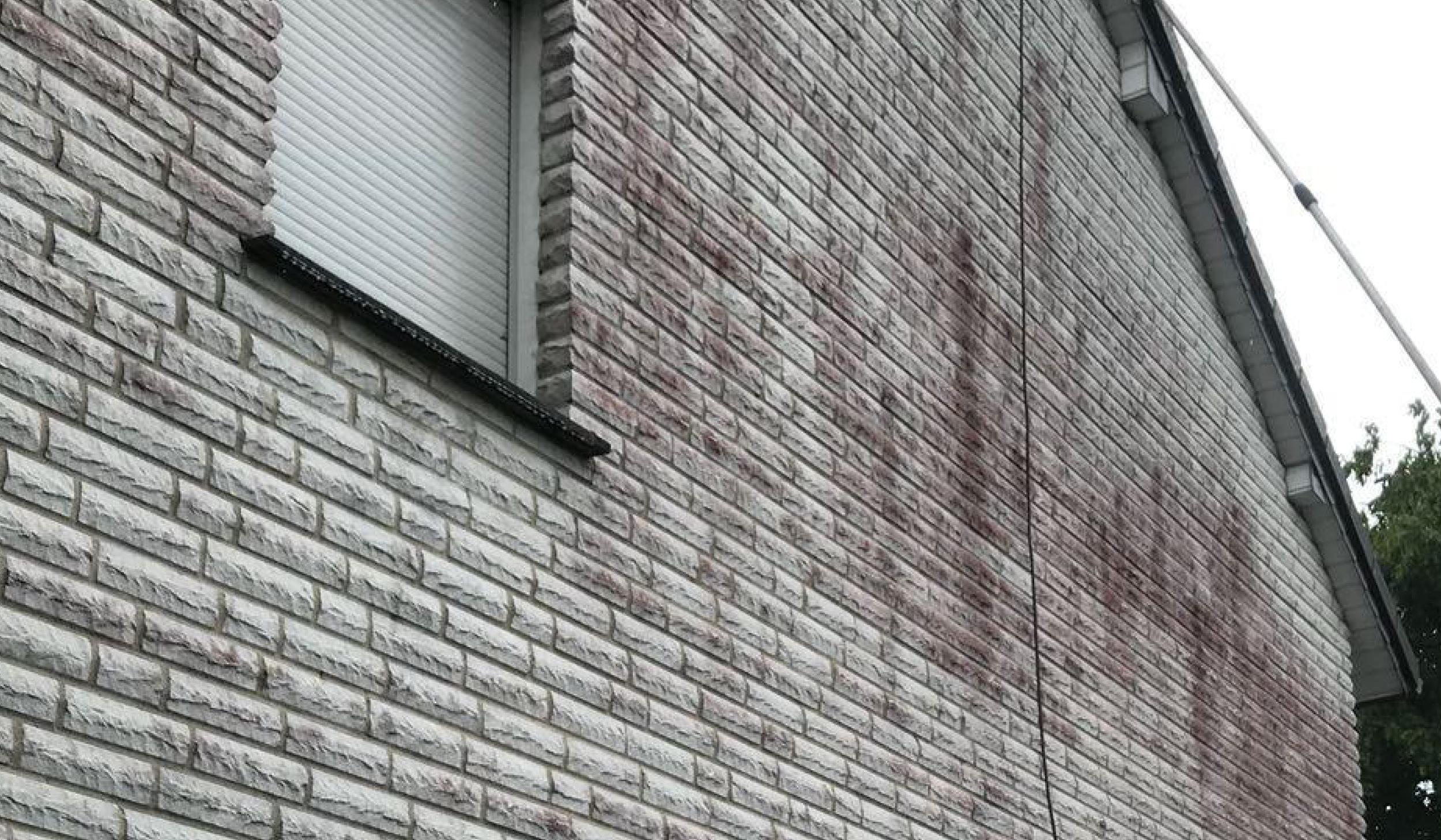Fassilo Fassadenreinigung Klinkerfassade dreckig