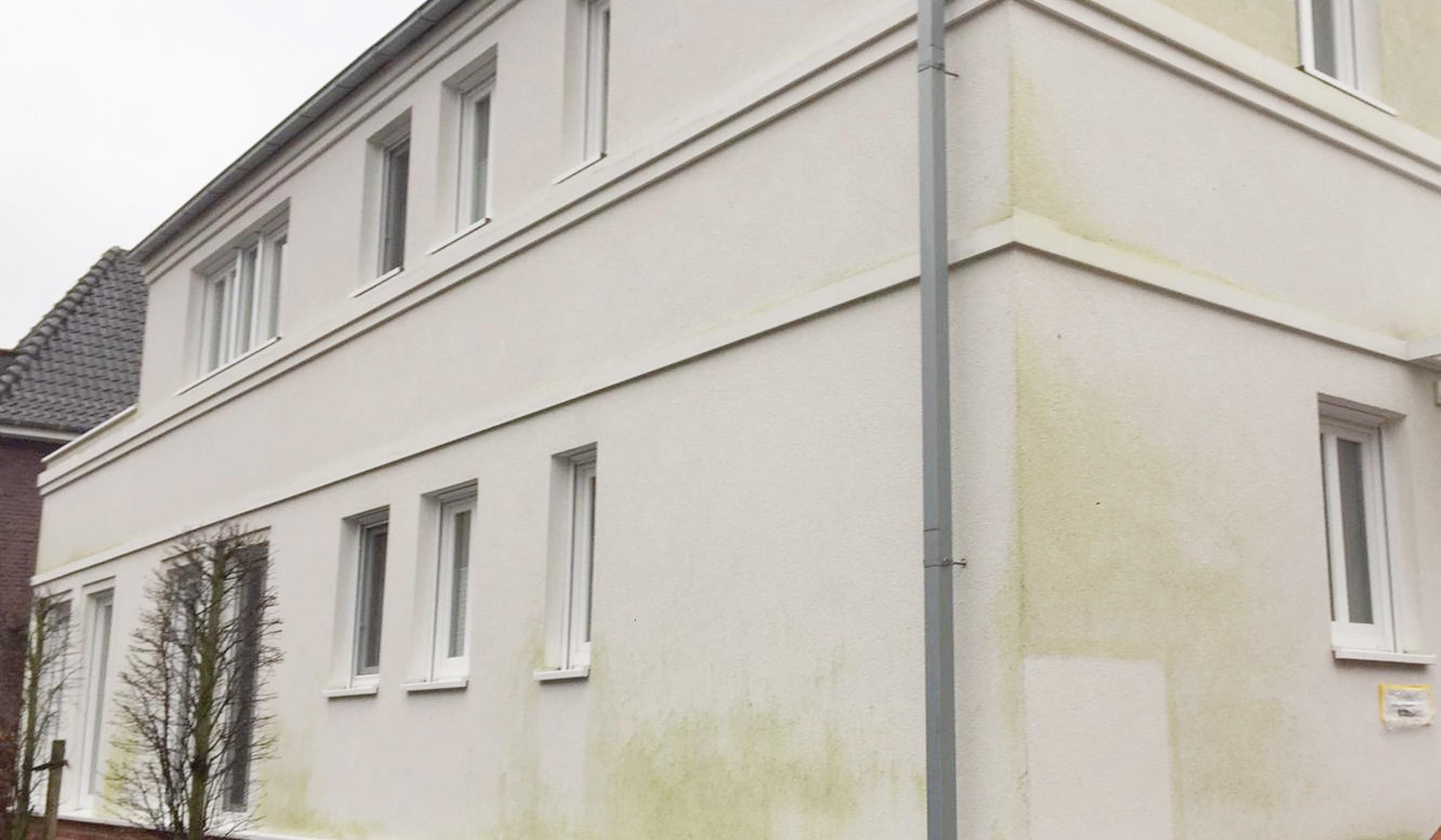 Fassilo Fassadenreinigung Putzfassade dreckig