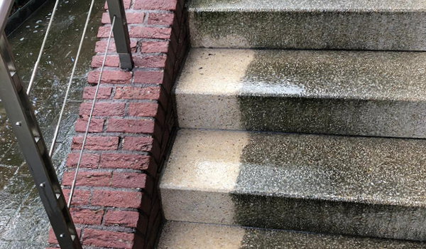 Professionelle Fassadenreinigung Fassilo Klinkerfassade