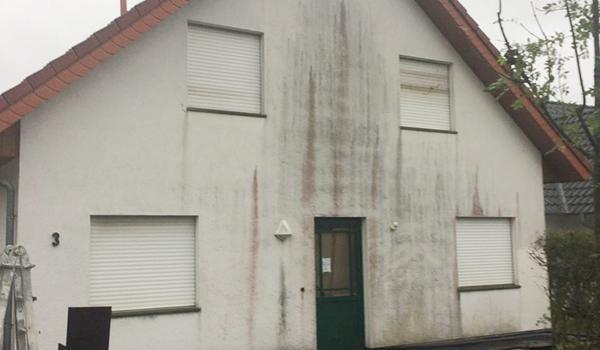 Professionelle Fassadenreinigung Fassilo Münster Vorher