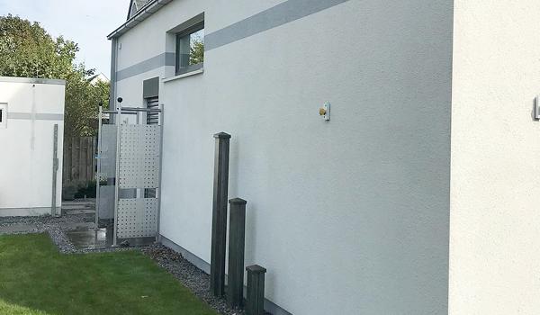 Professionelle Fassadenreinigung Fassilo saubere Fassade